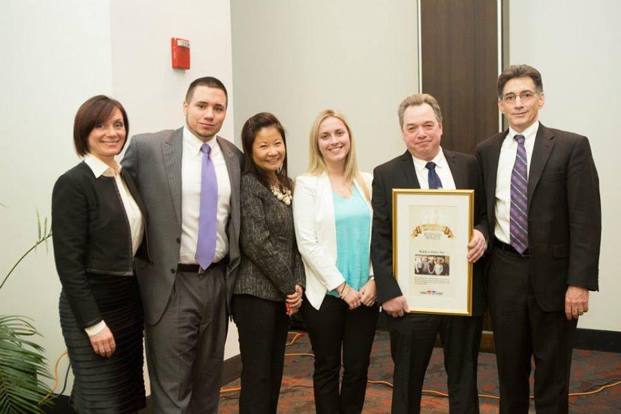 Wade's family business award