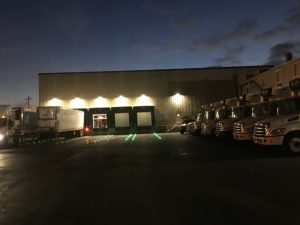 Wade's new warehouse